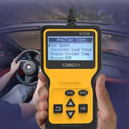 lector de código de diagnóstico de coche obd2 Rebajas Universal Car OBD2 Lector de códigos Escáner Auto Engine Analyzer Herramienta de escaneo de diagnóstico