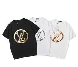 Sequin das mulheres camisetas on-line-A mais recente alta qualidade T-shirt das mulheres Dos Homens de roupas de manga curta Seiko bordado de lantejoulas algodão Sportswear Jersey requintado casaco
