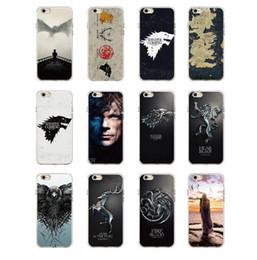 2019 coffrets de téléphone Jeu Trônes Daenerys Dragon Jon Snow tannion lannister Étui souple pour téléphone net Fundas Pour iPhone 7 7 plus 6 6 s 6 Plus 5 8 8 plus X XS Max promotion coffrets de téléphone