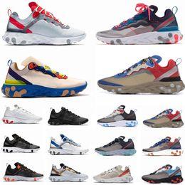 Compre Reaccionar De Los Zapatos Corrientes Nike 200 Vapormax AIR MAX Men Women Bauhaus Óptico Antracita Phantom Aire Triple Negro HYPER JADE Mujeres