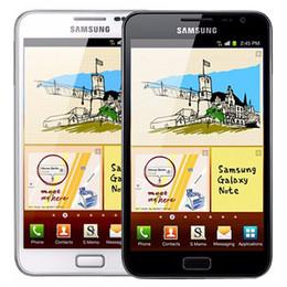 téléphone intelligent déverrouillé Promotion Galaxy Samsung Réformé originale Note N7000 5,3 pouces Dual Core 1 Go de RAM 16RM ROM 8MP 3G débloqué Android téléphone portable gratuit DHL 1pcs