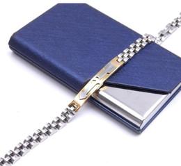 Seta relógios on-line-Seta através do coração pulseira pulseira de aço inoxidável cadeia de relógio