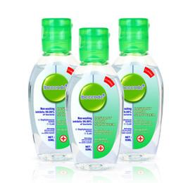 2019 spray nano argent Désinfectant Portable main Gel Anti Voyage 50ml-bactéries hydratant liquide à usage unique No Clean Hand Gel sans eau antibactérien