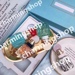 2019 duftproben HOT Braand Parfüm Probe Kit MM Mini Parfüm 4 in 1 Set Jede Flasche 20 ml Parfüm Düfte für Frau Parfüm Spray Freies Verschiffen günstig duftproben