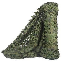 rete camouflage camo Sconti Caccia Camouflage Nets Woodland Camo reticolato Blinds Grande per la decorazione Parasole Camping Hunting Party, 7Mx2M