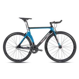 2019 komplette kohlenstoffstraße Carbon Fiber Bent Griff Rennrad Fixed Gear Bike 700C Felge 49cm Komplette Rennrad rabatt komplette kohlenstoffstraße
