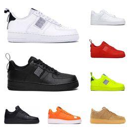 Nike Air Force 1 AF1 One Forces 1 Dunk Hotsale Men 1 Schwarz Weiß Damen Freizeitschuhe Grün Skateboarding High Low Cut Weizentrainer Sport Sneakers