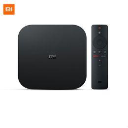Xiaomi Mi Box S Smart TV 4k Ultra Hd 2g 8g Android TV Box Wifi Google Cast Netflix Media Player Abbonamento IPTV da