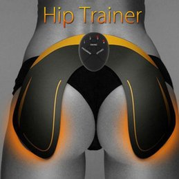 Enge schönheit online-Hip Tainer Hintern EMS Hip Trainer Muskelstimulator Buttocks Lifting Taille Körper Schönheit Massage Gesäß Engere Lifter Massage GGA3010