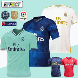 f373fc338 New 2019 Real Madrid 4th EA Sports Soccer Jerseys 18 19 20 Home MODRIC  MARCELO 2020 3rd VINICIUS JR KROOS ISCO ASENSIO BALE Football Shirts