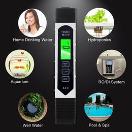 Moda Taşınabilir LCD Dijital TDS EC Sıcaklık Su Kalitesi Ölçer Cihazı Filtre Saflık Kalem Moda LCD Su Kalitesi Ölçer nereden ec test cihazı tedarikçiler