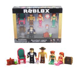 2019 figura de ação robin vermelho Roblox Personagens Figura Brinquedo Figuras de Ação PVC Figma Oyuncak Figura de Ação para Crianças Brinquedos 3 estilos