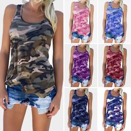 2020 più abbigliamento donne camouflage abbigliamento T-shirt da donna T-shirt mimetica da donna T-shirt Plus size vestire Sexy Fashion All abbinato Vendita calda Cina produttore di abbigliamento per donna sconti più abbigliamento donne camouflage abbigliamento