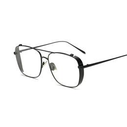 Оптовые прозрачные солнцезащитные очки для мужчин онлайн-Оптово-дизайнерские очки с прозрачными линзами очки мужские очки солнцезащитные очки женские 2019 новинка уличные уличные солнцезащитные очки 3 цвета