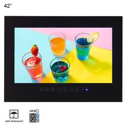 """taux tvs Promotion 42 """"Noir Grand Écran Salle de Bains IP66 Étanche SPA Salon Publicité LED TV Soulaca Hôtel Télévision Mur"""