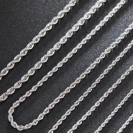 Collar para hombre estrella online-3/4 / 5mm 20/24 / 30inches Acero inoxidable Oro Colores Cadena de cuerda Collar para hombre Hip Hop Jewelry Star Style