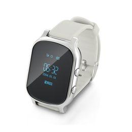 Mini GPS Çocuklar yaşlı adam Akıllı İzle GPS WIFI SOS LBS Bulucu Bulucu acil çağrı smartwatch yaşlı çocuklar için T58 cheap gps watches for elderly nereden gps yaşlılar için saatler tedarikçiler