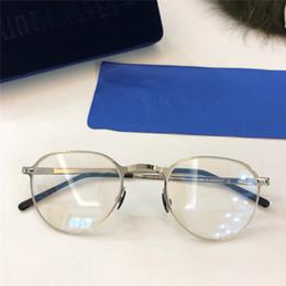 óculos mykita Desconto Nova MYKITA Óptica óculos GUNNAR frame redondo com espelho lente ultralight frame Memory Alloy homem e mulheres de grandes dimensões lente HD com caixa