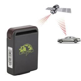 Capteurs de fonctions en Ligne-Tracker GPS de voiture GPS GSM TK102-2 Tracker GPS personnel avec fonction d'alarme de capteur de choc + fente pour carte mémoire Flash 20