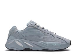 zapatos de diseño de calidad Rebajas Inercia 700 corredor de la onda para hombre diseñador de las mujeres zapatillas de deporte nuevo hospital azules 700 zapatos V2 Imán Tefra mejor calidad Kanye West deporte con la caja