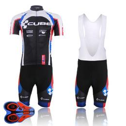 2020 equipe de ciclo de cubo Team Wear Cube Ciclismo Jersey 9d Bib Set Quick Dry bicicleta Roupa Ropa Ciclismo bicicleta roupa homens Short Maillot Culotte desconto equipe de ciclo de cubo