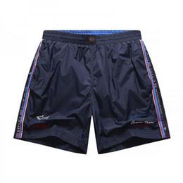 NOVA 2019 Shark designer Verão marca Calções P063 Moda Itália PS estilo casual calças curtas PSY Yacht Club calças Calças de praia de