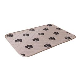2019 cani da allenamento Stuoie di cane riutilizzabili impermeabili per cane pad di urina cucciolo di pipì pad tappeto lavabile cucciolo pad di formazione / rompi l'assorbimento di calore pastiglie sconti cani da allenamento