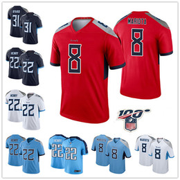 fußball jerseys farbe Rabatt Farbrausch Begrenzt Tennessee 2 Derrick Henry Titans Jersey 8 Marcus Mariota 29 Demarco Murray Fußballjerseys