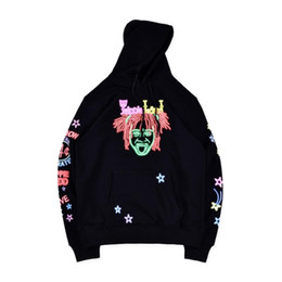 Mens Designer Hoodies Trippie Redd Band Merch Trippieland Printed Sweatshirt Hip Hop Sänger Hoodie Casual Male Hoodie