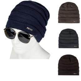 c9a5030c4aa ISHOWTIENDA 2018 New Arrival Fashion Unisex Winter Beanies Plus Velvet  Windproof Earmuffs Warm Couple Knit Hat beanie hat Winter