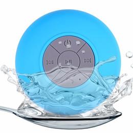 2019 pilule légère haut-parleur bluetooth En gros Mini Portable Subwoofer Douche Étanche Bluetooth Haut-Parleur Voiture Mains Libres Recevoir Appel Musique avec Boîte pour Emballage