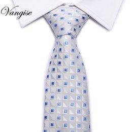 gravata de seda branca Desconto Laços De Seda do homem para Homens Acessórios Preto Azul Branco Vermelho Verde Sólidos Listrado Jacquard Gravata de Casamento Do Negócio Gravatas 3
