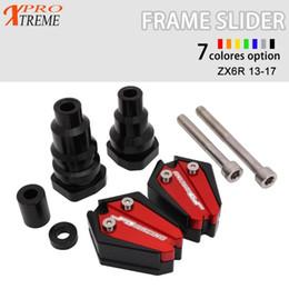 Frame Slider Crash Protector Pads For Aprilia RSV4 1000 R ABS Tuono V4 R 13-17