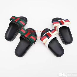 Zapatillas para niños Marca Niños Zapatillas de casa Estilo europeo y americano Impresión Moda Verano Zapatillas de suela plana Sandalia para exteriores N-Y16 desde fabricantes