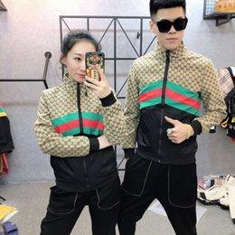 Paar stehen online-2019 Mens Jacket New Mens Stehkragen Teen Paar Freizeitjacke Dünne Jacke