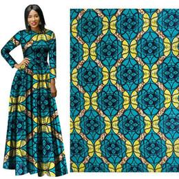 2019 розовый измеритель ткани Африканский воск принт ткань кент ткань 6 ярдов анкара африканские принты воска оптом полиэстер для платья костюм