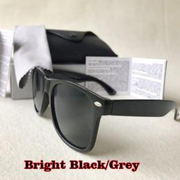 Deutschland Luxus-Designer-Sonnenbrille der Frauen der Männer Quadrat Marke Azetat Rahmen Echt UV400 Sonnenbrille original Ledertasche Versorgung