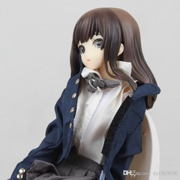 scale sexy figure Promo Codes - New Hot Sexy Japanese Anime Figures Touko In The Lavatory Creators Collection 1 8 Scale 18cm Action Figure Anime PVC Figure Action Toy
