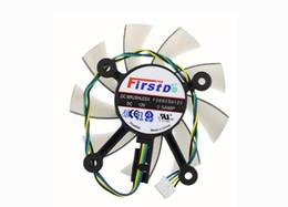 Tarjeta grafica fan asus online-Nuevo para ASUS GTX450 GTX460 550TI 560 HD4790 HD6770 HD7750 HD7770 HD7850 FD8015U12S R128015SU 75mm 43mm Tarjeta gráfica Ventilador Ventilador de enfriamiento