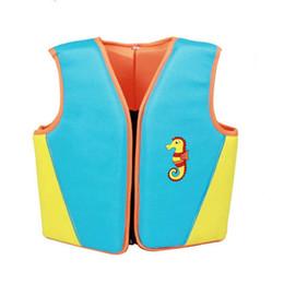 Crianças Swim Life Vest Crianças Meninas Meninos Praia de Treinamento de Natação Flutuar Colete Colete Salva-vidas Rosa Azul Crianças Esportes Natação de