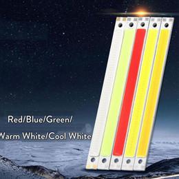 lampara led cuentas blanco frio Rebajas Bulbo del grano de 10pcs / Lot 10W LED de 12V DC 14V COB Gaza lámpara LED de iluminación del coche Rojo Verde Azul Blanco fresco Para Auto DIY Decoración Luz