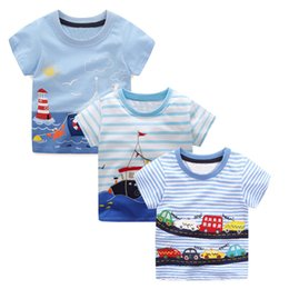 3c7bdef13e3ba 3PCS Boys Summer Tops Tee Shirts Fille Kids Clothes 2019 Brand Children T  shirts for Boys Clothing Animal Pattern Baby T-shirt