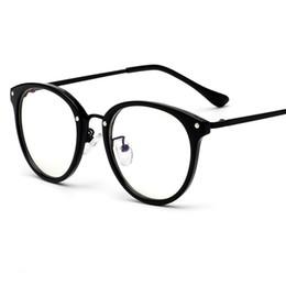Canada 2019 mode riz ongles en métal lunettes cadre nouvel art ovale miroir plat personnalité hommes et femmes décoration tendance verres. cheap mirrors nail Offre