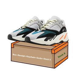 Argentina 2019 zapatillas de deporte Wave Runner 700 de alta calidad con Stock X accesorios para hombre zapatos unisex hombres mujer 700 zapatos de diseño de lujo cheap top sneakers shoes Suministro