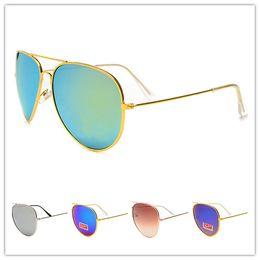 New Round Metal Óculos De Sol Designer de Óculos RAY Ouro Lente de Vidro  Flash BEN Homens Mulheres BANÇAS Espelho Óculos De Sol Da Marca Óculos de  Sol Com ... 123ce19952