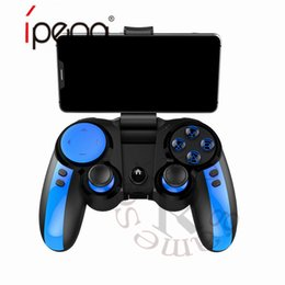 2019 controlador de juegos bluetooth android iPega PG-9090 2.4G Controladores de juegos inalámbricos Bluetooth Controlador Joystick Gamepad con menú turbo para Android ios Control de juegos de teléfono controlador de juegos bluetooth android baratos
