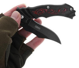 W80 Нож Мини Портативный Ключ Edc Нержавеющей Раза Кемпинг Тактические Складные Карманные Ножи Кольцо Открытый Инструменты Охота от