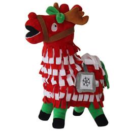 Canada noël Llama En Peluche 30 cm Jeu Alpaga Poupée Doux Mignon de Bande Dessinée Jouets Arc-En-Cheval Stash Llama En Peluche Enfants Collection Cadeau Mascotte Offre