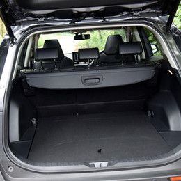 cubierta de coche rav4 Rebajas Car Styling Black Car Rear Cargo Cargo Trunk Shield Security Parcel Estante para Toyota RAV4 XA50 2019 2020