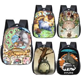 Totoro saco infantil on-line-anime Totoro escola mochila crianças sacos meninos meninas de banda desenhada jardim de infância mochila crianças criança dom sacos bookbag